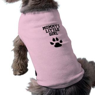 Das kleine Mädchen der lustigen Hundemama Shirt
