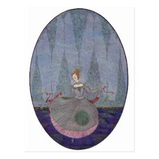 Das kleine Meer-Mädchen Postkarte