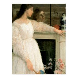 Das kleine weiße Mädchen; Symphonie in Weiß, keine Postkarte