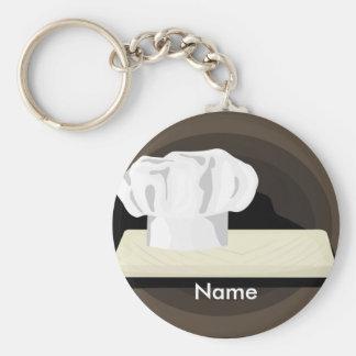 Das Koch keychain 2 Standard Runder Schlüsselanhänger