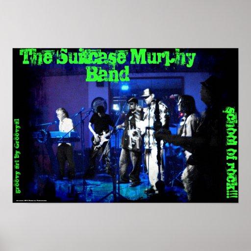 Das Koffer-Murphy-Band Plakate