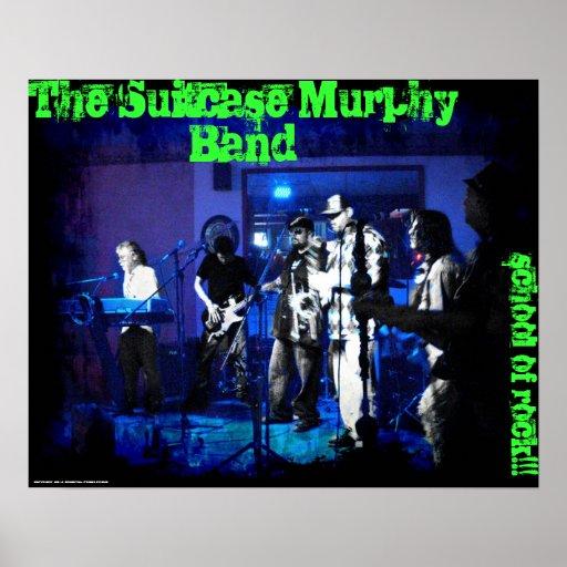 Das Koffer-Murphy-Band Plakatdrucke