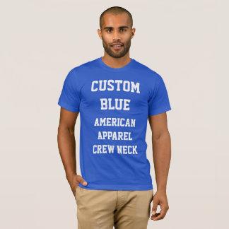Das KÖNIGLICHE BLAU-AMERIKANISCHER KLEIDERT - T-Shirt