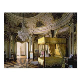 Das königliche Schlafzimmer im Hall von Don Postkarte