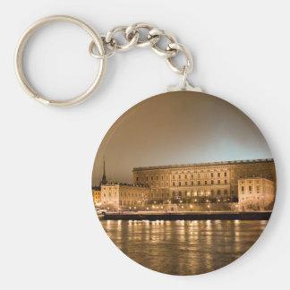 Das königliche Schloss, Stockholm Schweden Standard Runder Schlüsselanhänger