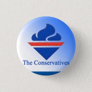 Das Konservativ-alte Logo Runder Button 3,2 Cm