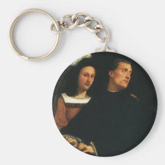 Das Konzert durch Titian Vintage Renaissance-feine Schlüsselanhänger