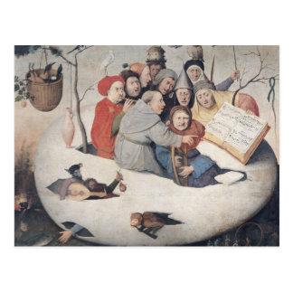 Das Konzert im Ei Postkarte
