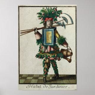 Das Kostüm des Gärtners Poster