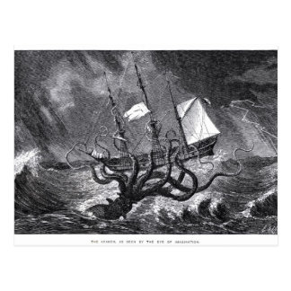 Das Kraken Postkarte