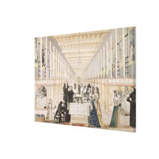 Das Krankenhaus der Schwestern der Wohltätigkeit w Galerie Falt Leinwand