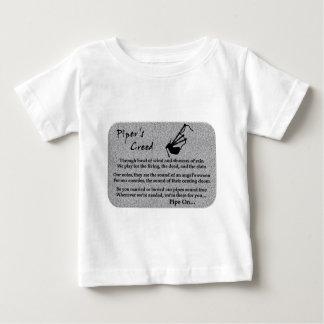 Das Kredo des Pfeifers (Stein) Baby T-shirt
