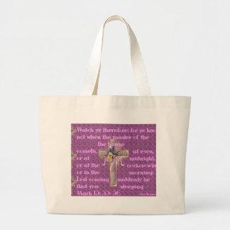 Das Kreuz Jumbo Stoffbeutel