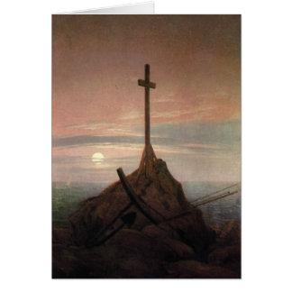 Das Kreuz neben der Ostsee Karte