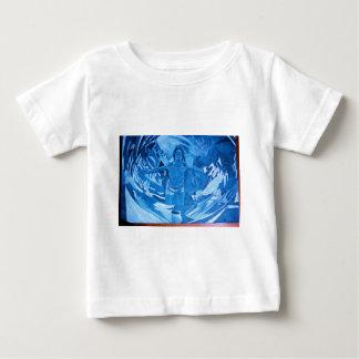 Das künstlerische Auge des Hirschs Baby T-shirt