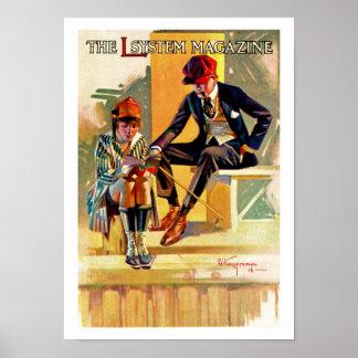 Das L Sytem Zeitschrift Poster