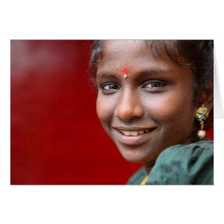 Das Lächeln der *Kavithas Karte