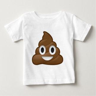 Das Lächeln kacken Emoji Baby T-shirt