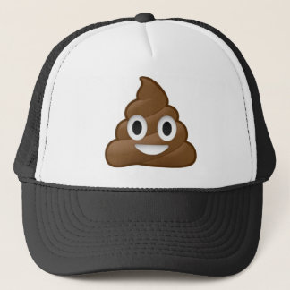 Das Lächeln kacken Emoji Truckerkappe