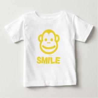 Das Lächeln-T - Shirt des Babys mit unverschämtem