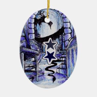Das Lager eines Drachen Keramik Ornament