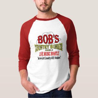 Das Land-Bunker des Bobs - ehren Sie die T-Shirt