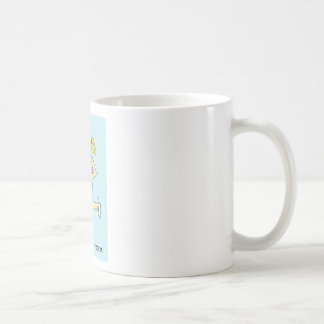 Das Laufen aus einem Grund/backen für Damen Kaffeetasse