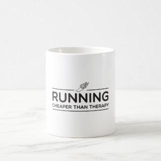 Das Laufen ist billiger als Therapie Verwandlungstasse