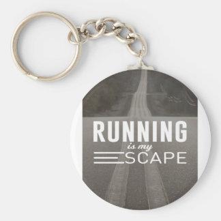 Das Laufen ist mein Entweichen Schlüsselanhänger