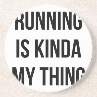 Das Laufen ist meine Sache Getränkeuntersetzer