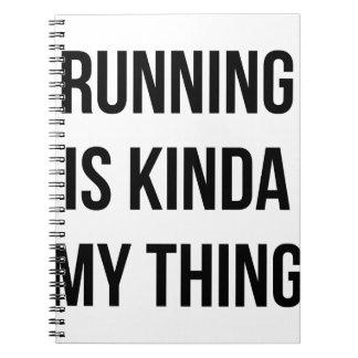 Das Laufen ist meine Sache Notizblock