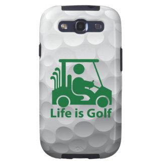 Das Leben der Galaxie-S3 ist Golf-Fall-Grün-Golfsp Samsung Galaxy S3 Etuis