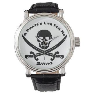 Das Leben eines Piraten für mich… kapieren? Armbanduhr