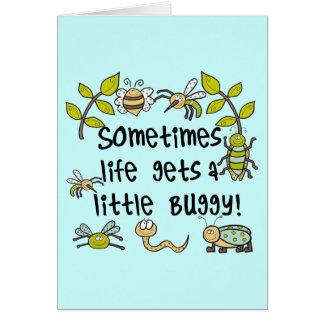 Das Leben erreicht Buggy Karte