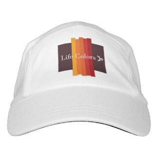 Das Leben färbt Hut Headsweats Kappe