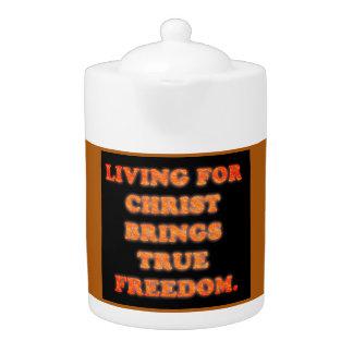 Das Leben für Christus holt wahre Freiheit