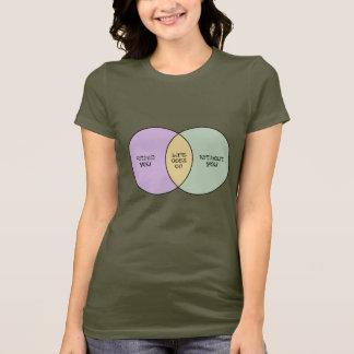 Das Leben geht auf Venn T-Shirt