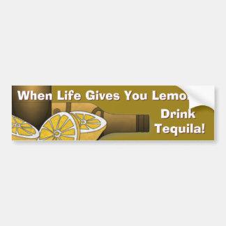 Das Leben gibt Ihnen Zitronen Autoaufkleber