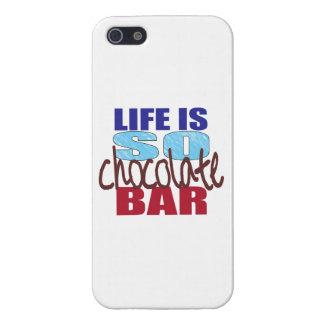 Das Leben ist, also Schokoladen-Bar iPhone 5 Schutzhülle Fürs iPhone 5