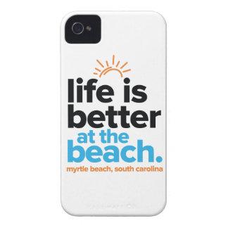 Das Leben ist am Strand besser iPhone 4 Case-Mate Hülle