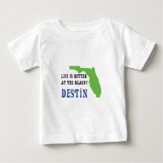 das Leben ist am Strand destin besser Baby T-shirt