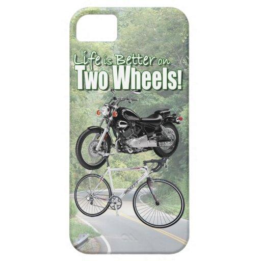 Das Leben ist auf zwei Rädern besser iPhone 5 Hülle