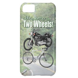 Das Leben ist auf zwei Rädern besser Hülle Für iPhone 5C