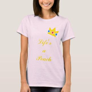 Das Leben ist ein Pfirsich T-Shirt