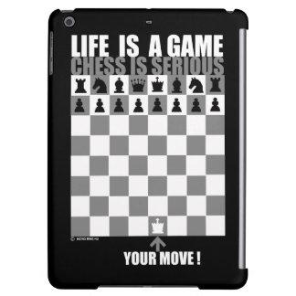 Das Leben ist ein Spiel, Schach ist ernst