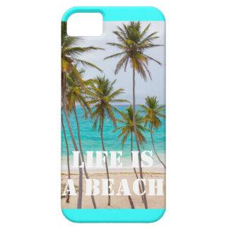 Das Leben ist ein Strand, iPhone 5 Fall iPhone 5 Cover
