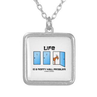 Das Leben ist eine Monty Hall Tür-Ziege Versilberte Kette
