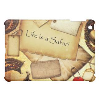 Das Leben ist eine Safari iPad Mini Hülle