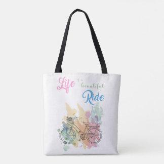 Das Leben ist eine schöne FahrtTaschen-Tasche Tasche