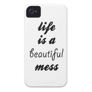 Das Leben ist eine schöne Verwirrung Case-Mate iPhone 4 Hülle
